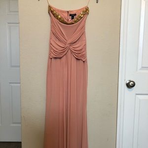 Mango Maxi dress with embellished top